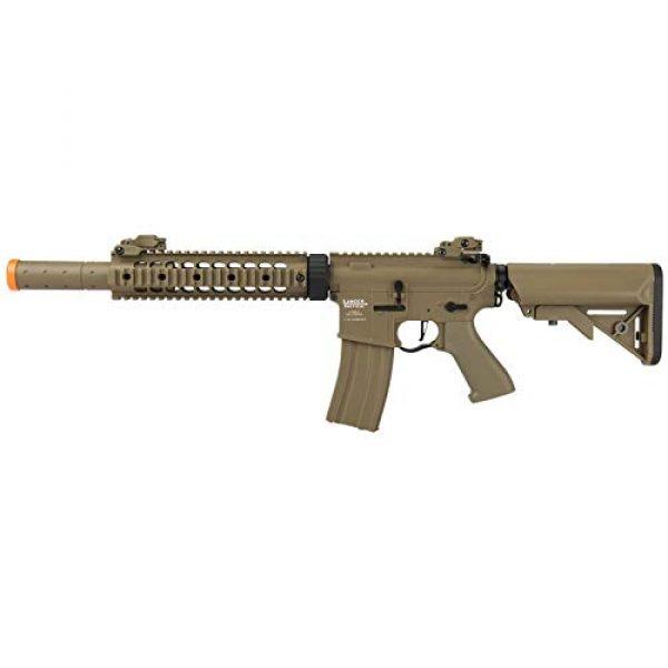 "Lancer Tactical Airsoft Rifle 1 Lancer Tactical M4 SD Proline Series 9"" Rail Airsoft AEG [Low FPS] - TAN"