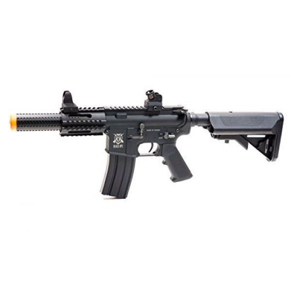 Black Ops Airsoft Rifle 4 Black Ops SR4 CQB AEG Rifle - Electric Fully Automatic Airsoft Gun - .20 .25 BBS