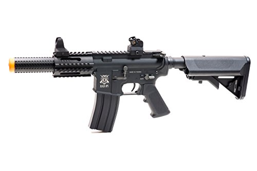 Black Ops  4 Black Ops SR4 CQB AEG Rifle - Electric Fully Automatic Airsoft Gun - .20 .25 BBS