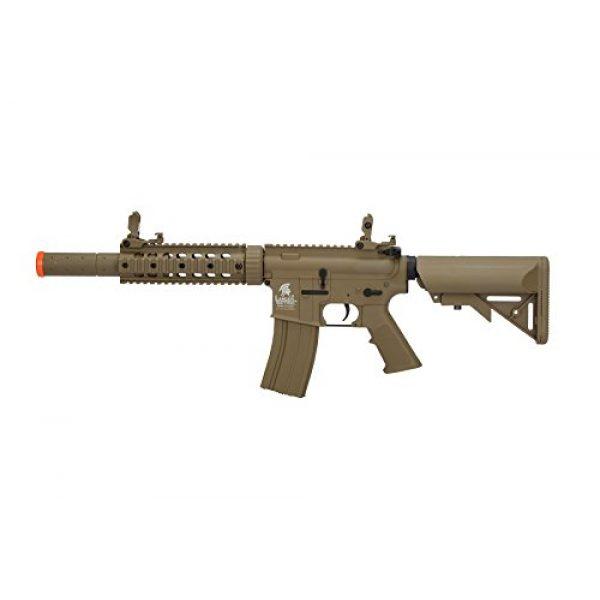 Lancer Tactical Airsoft Rifle 1 Lancer Tactical Airsoft M4 SD GEN 2 Polymer AEG - TAN