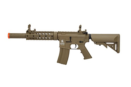 Lancer Tactical  1 Lancer Tactical Airsoft M4 SD GEN 2 Polymer AEG - TAN