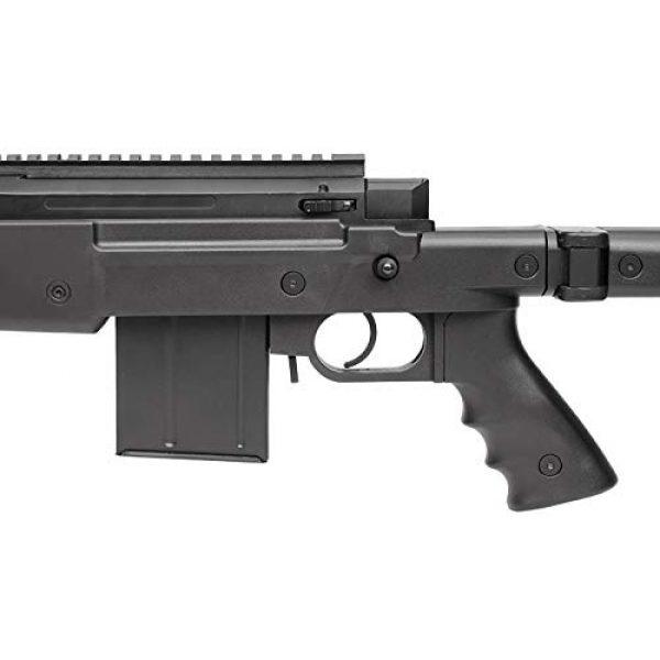 TSD Airsoft Rifle 5 tsd tactical sd94 airsoft sniper rifle, black airsoft gun(Airsoft Gun)