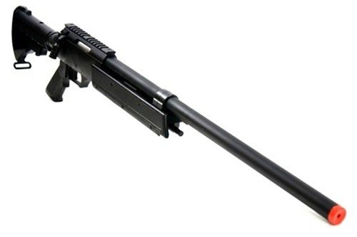 Well  4 470 fps wellfire aps sr-2 modular full metal bolt action sniper rifle mb06a(Airsoft Gun)