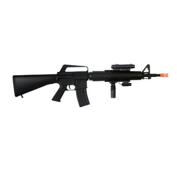 Well Airsoft Rifle 5 Well m16-a3 RIS Spring Airsoft Gun Assault Rifle fps-340 w/Aiming Sight, Flashlight, high Capacity Magazine(Airsoft Gun)