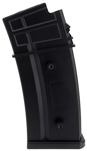 SportPro  1 SportPro Army Force 470 Round Polymer High Capacity Magazine for AEG G36 Airsoft - Black