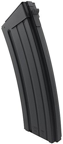 SportPro  4 SportPro 110 Round Metal Medium Capacity Magazine for AEG Galil SAR Airsoft - Black
