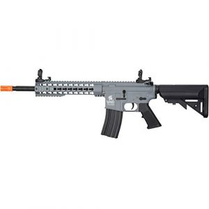 "Lancer Tactical Airsoft Rifle 1 LANCER TACTICAL Gen 2 LT-19 Carbine 10"" AEG Automatic Aerosoft Gun"