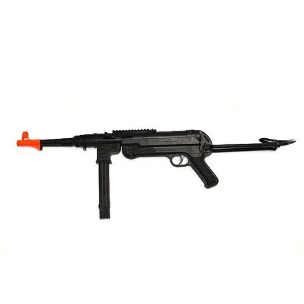 Double Eagle Airsoft Rifle 1 Double Eagle mp40 WWII Spring Airsoft Machine Gun Rifle Airsoft Gun(Airsoft Gun)