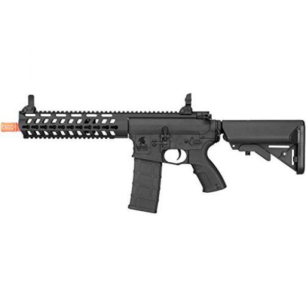 "Lancer Tactical Airsoft Rifle 1 Lancer Tactical 10.5"" Rapid Deployment Carbine M4 RDC Airsoft AEG Rifle Low Speed Black"