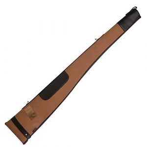 "TOURBON Rifle Case 1 TOURBON Padding Gun Case 50"" Shotgun Bag - Canvas and Leather"