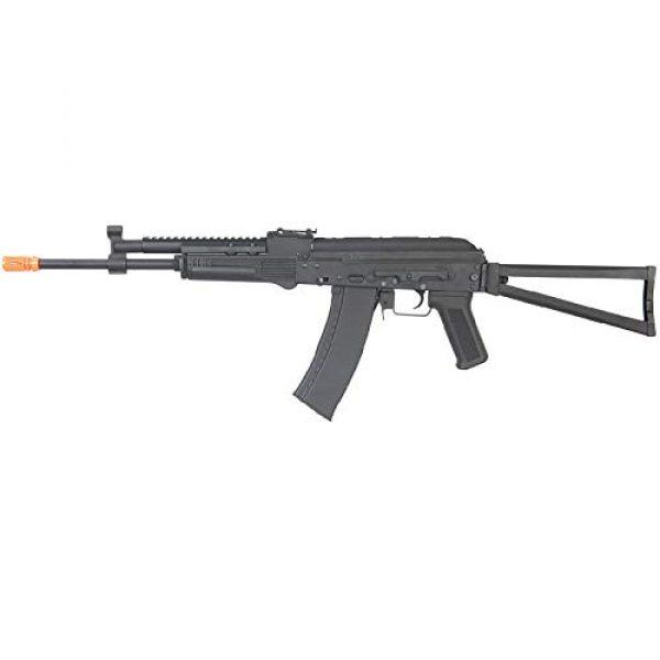 Lancer Tactical Airsoft Rifle 1 Lancer Tactical LT-740J AEG Full Metal Rifle with Gas Block Rail Black