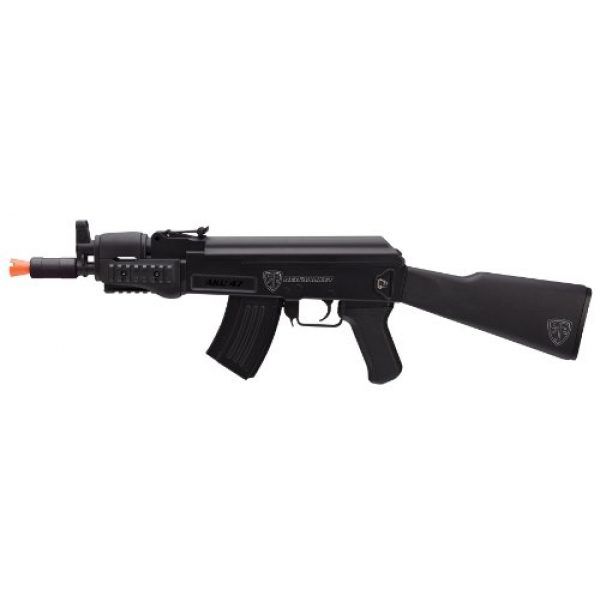 Elite Force Airsoft Rifle 1 Red Jacket AKU-6mm Plastic- Electric Airsoft Rifle, Black