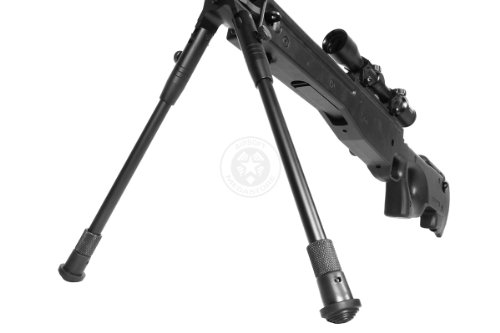 Well  6 de airsoft shadow ops mk96 bolt action sniper rifle w/ bipod and scope(Airsoft Gun)