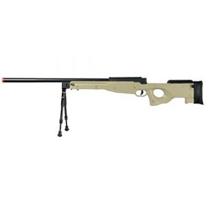 Well Airsoft Rifle 1 Well Airsoft Sniper Rifle W/Bipod - Tan