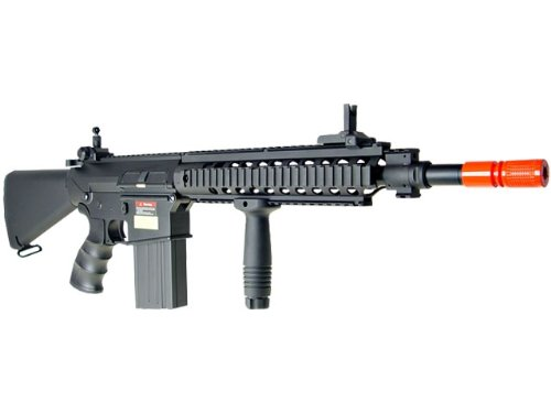 Jing Gong (JG)  1 JG sr 25 full metal aeg airsoft rifle(Airsoft Gun)