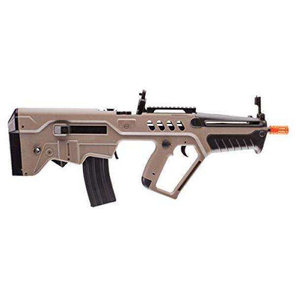 Elite Force Airsoft Rifle 3 Elite Force IWI Tavor AEG 6mm BB Rifle Airsoft Gun, Dark Earth Brown, Tavor 21 (Competition Series), One Size (2278051)