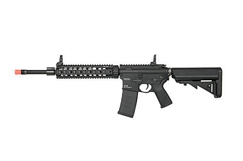 KWA  1 KWA RM4 SR10 AEG3 ERG Airsoft Rifle w/ Recoil & Quick-Change Spring