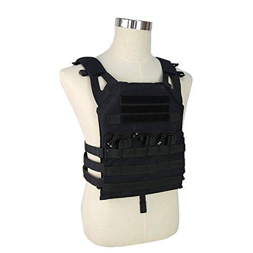 DETECH Airsoft Tactical Vest 3 DETECH Tactical JPC MOLLE Vest Military Wargame Chest Rig Hunting Vest Airsoft CS Protective Vest