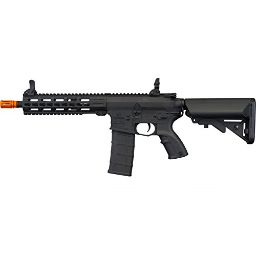 Tippmann Airsoft  3 Tippmann Tactical Commando AEG CQB 10.5in Airsoft Rifle Black