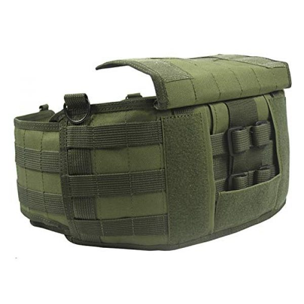 tactic.world Airsoft Tactical Vest 5 MOLLE Modular Tactical Belt molle Vest Chest rig Paintball Airsoft