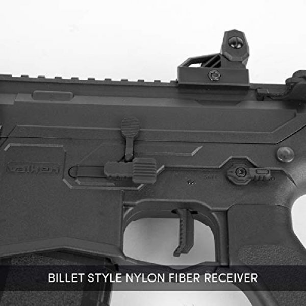 Valken Airsoft Rifle 2 Valken ASL Series M4 Airsoft Rifle AEG 6mm Rifle - MOD-M (Black)
