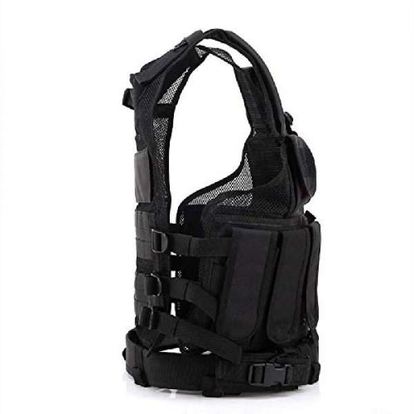 BGJ Airsoft Tactical Vest 3 BGJ Military Equipment Tactical Vest Police Training Combat Armor Gear Army Paintball Hunting Airsoft Vest Molle Protective Vests