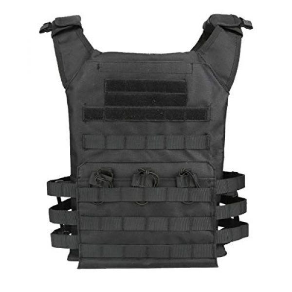 KIDYBELL Airsoft Tactical Vest 1 KIDYBELL Tactical Molle Vest Breathable Combat Training Vest 1000D Oxford Cloth Outdoor Activity Air Soft Vest Sports Equipment Modular Vest