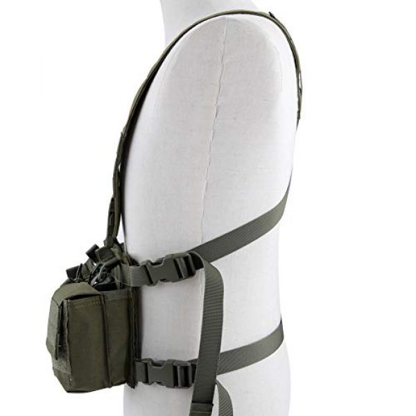 Tactical Area Airsoft Tactical Vest 2 CS Vest Multi-Functional Tactical Vest Breathable and Quick Release Lightweight Vest