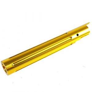 Airsoft Shopping Mall Airsoft Gun Part 1 Airsoft Shooting Gear 5KU Non-Recoil Straight Outer Barrel For Hi-Capa 5.1 GBB Gold