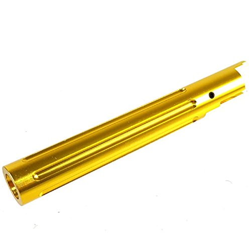 Airsoft Shopping Mall  1 Airsoft Shooting Gear 5KU Non-Recoil Straight Outer Barrel For Hi-Capa 5.1 GBB Gold
