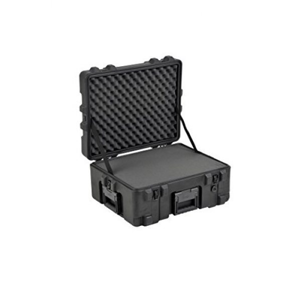 "SKB Pistol Case 3 SKB Equipment Case 22"" X 17"" X 10 1/2"" - Foam & Wheels"