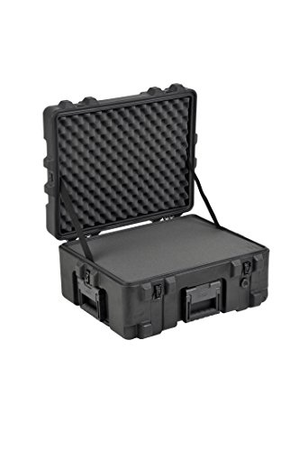 "SKB Pistol Case 3 SKB Equipment Case 22"" X 17"" X 10 1/2"" - Foam & Wheels"