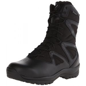 BLACKHAWK Combat Boot 1 BLACKHAWK 83BT19BK-140M Ultralight Side Zip Boot, Medium/Size 14, Black
