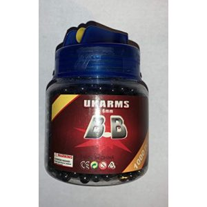 UKARMS Airsoft BB 1 Ukarms 1000 BBs .12g 6mm Quickload Container Airsoft Gun Accessory (Blue)