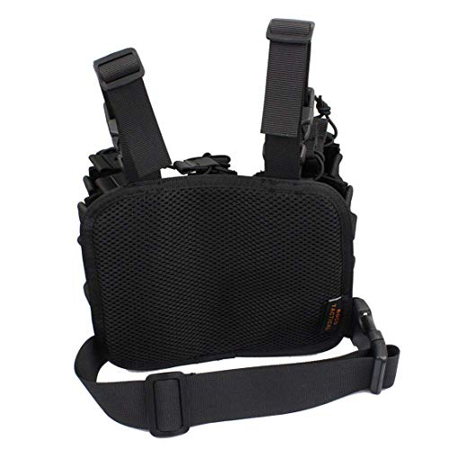 WOLFBUSH  5 WOLFBUSH 1000D Tactical Mag Pouch MOLLE Tactical Leg Platform for 7.62/9mm Cartridge for Hunting/Paintball/Airsoft