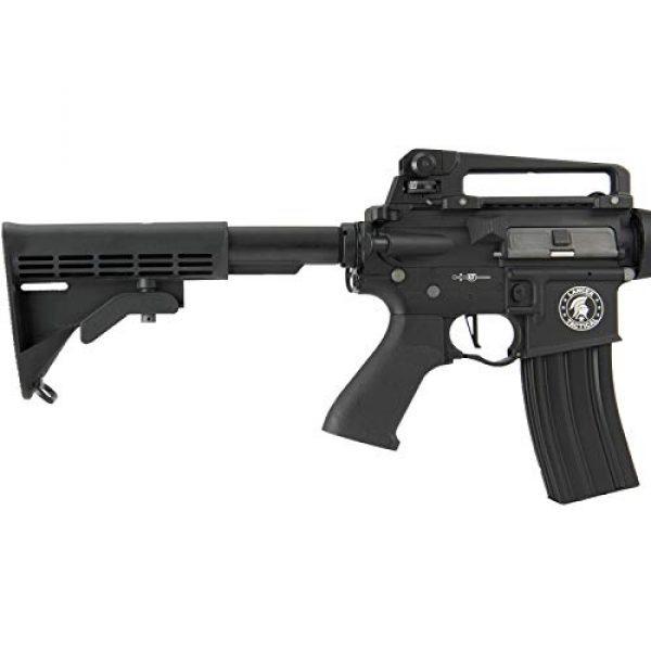Lancer Tactical Airsoft Rifle 5 Lancer Tactical M933 Commando Proline Airsoft AEG Rifle 350 FPS Black
