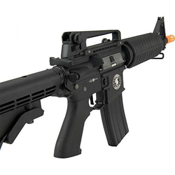 Lancer Tactical Airsoft Rifle 4 Lancer Tactical M933 Commando Proline Airsoft AEG Rifle 350 FPS Black