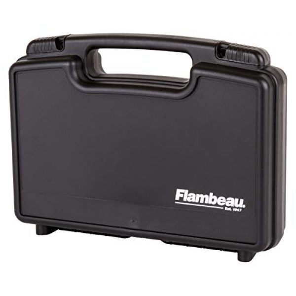 "Flambeau Outdoors Pistol Case 2 Flambeau Outdoors 1411 Safe Shot 14"" Pistol Pack Case, Portable Firearm Storage Accessory"