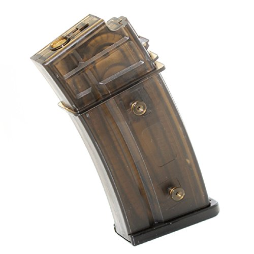 Airsoft Shopping Mall  1 Airsoft Shooting Gear CYMA 130rd Mid-Cap Mag Magazine For G36 AEG Semi-Transparent Brown