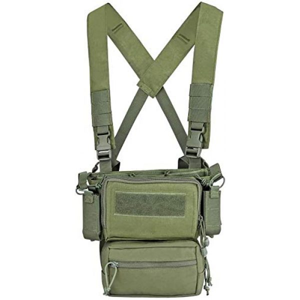 N/W Airsoft Tactical Vest 1 N/W Tactical Vest X Harness Rifle Pistol Magazine Pouch CRX Hunting Gear Accessories Chest Frame for Airsoft Paintball Shooting