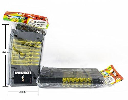 Vivoi  4 VIVOI Pack of 2 Magazine Clip for Airsoft Gun