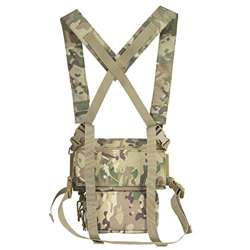 DETECH Airsoft Tactical Vest 3 DETECH Tactical Vest Army Chest Rig Carrier Armor X Harness Rifle Pistol Magazine Pouch CRX Hunting Equipment Accessories