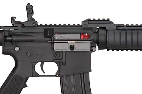 Lancer Tactical  7 Lancer Tactical MK18 Polymer Low FPS MOD 0 AEG Airsoft Rifle Black