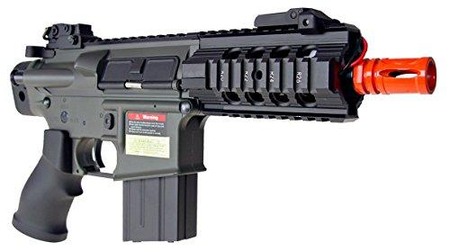 Jing Gong (JG)  3 JG aeg-m4ptl semi/full auto nicads/charger incl.-metal g-box(Airsoft Gun)