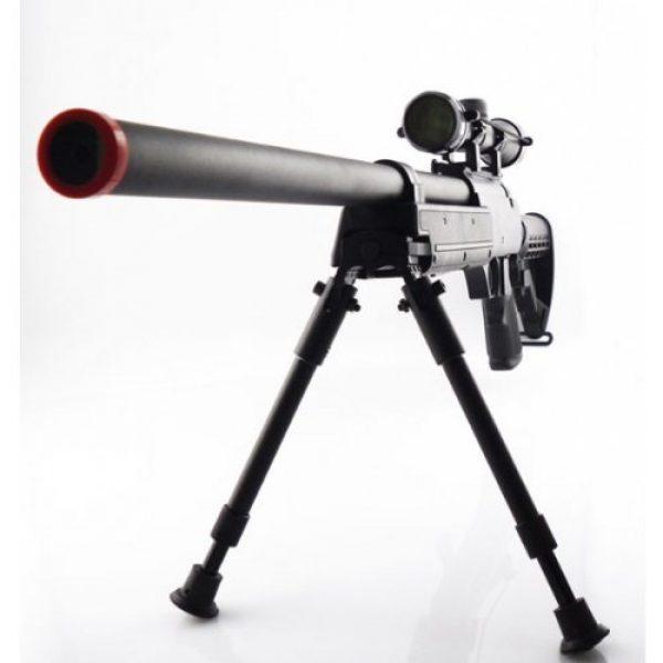 CYMA Airsoft Rifle 2 470 fps cyma aps sr-2 modular full metal bolt action sniper rifle w/ scope & bi-pod pkg - enhanced 2010 model(Airsoft Gun)
