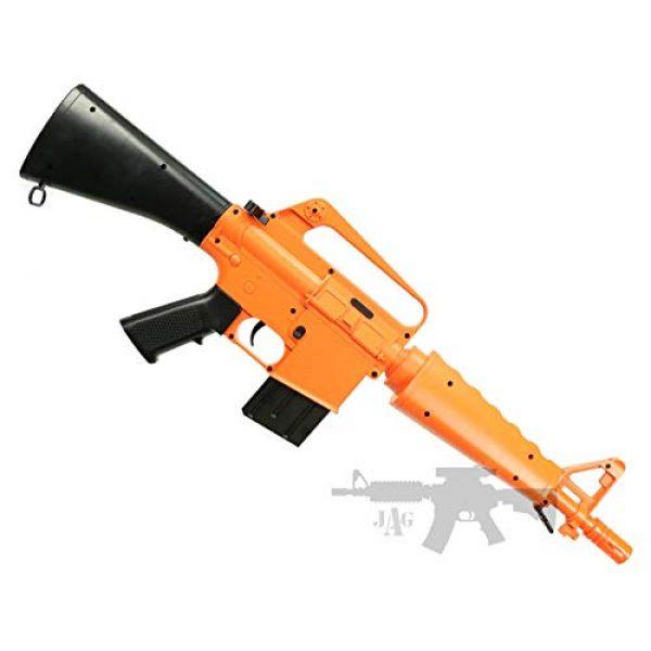 Double Eagle Airsoft Rifle 1 Double Eagle A&N Limited Edition - 340 FPS M4 A1 M16 Spring Airsoft Gun Rifle 6mm BBS Air Soft