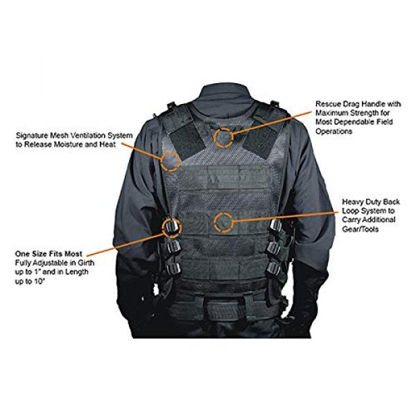 FUZHEN Airsoft Tactical Vest 2 FUZHEN Tactical Vest Outdoor,Breathable Combat Training Vest Adjustable,with 4 Deluxe Adjustable Rifle Mag Pouches Tactical Vest