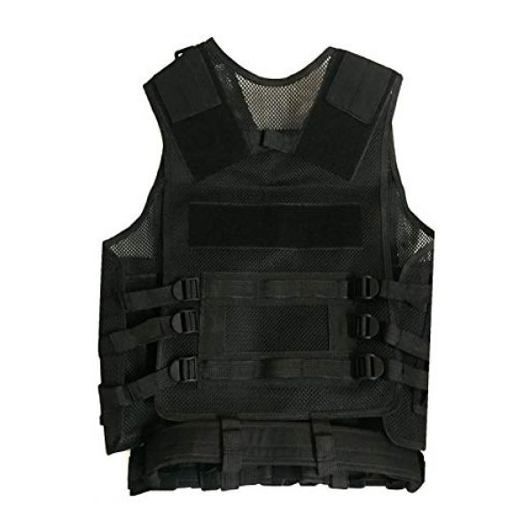 HAOWUTX Airsoft Tactical Vest 1 HAOWUTX Tactical Vest Outdoor Military Vest Wild Adventure Airsoft Hunting Tactical Vest