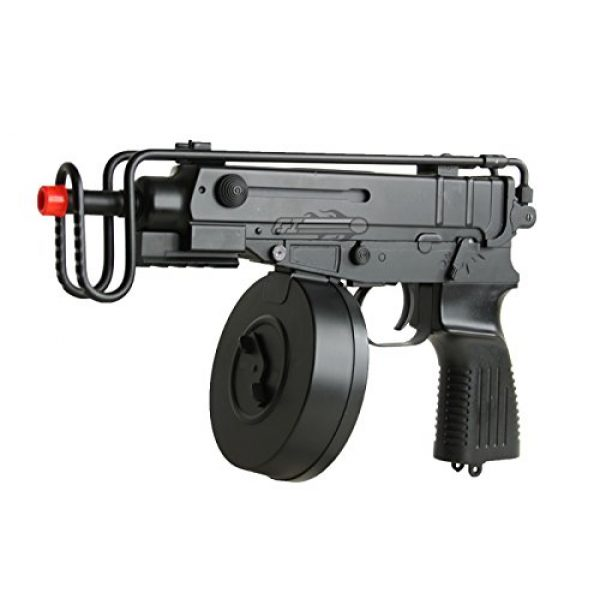 Well Airsoft Rifle 3 Well R2 Skorpion AEP Airsoft SMG (Black)
