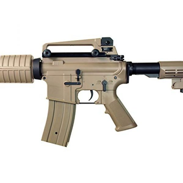 MetalTac Airsoft Rifle 6 MetalTac Electric Airsoft Gun with Metal Gearbox Version 2, Full Auto AEG, Powerful Spring 370 Fps with .20g BBS